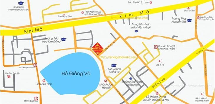 Codotel Hà Nội Golden Lake B7 Giảng Võ