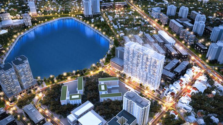 Mô hình đầu tư Condotel Hà Nội Golden Lake B7 Giảng Võ