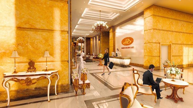 """Khối kiến trúc """" Dát vàng"""" của Hà Nội Golden Lake B7 Giảng Võ"""