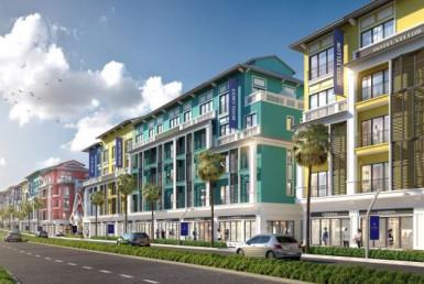 Mặt bằng Shophouse, nhà phố thương mại Sonasea Vân Đồn Harbor City