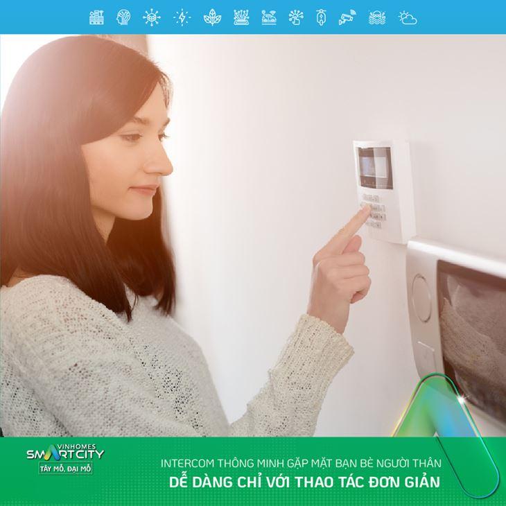 Hệ thống chuông cửa Intercom thông minh