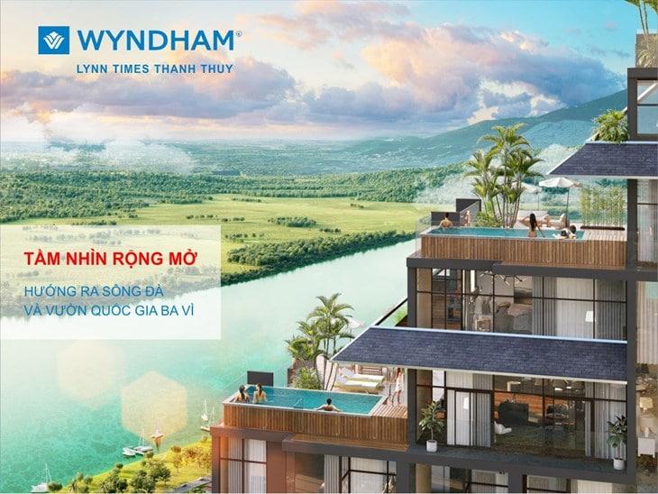Mặt bằng căn hộ Condotel tại Wyndham Thanh Thủy