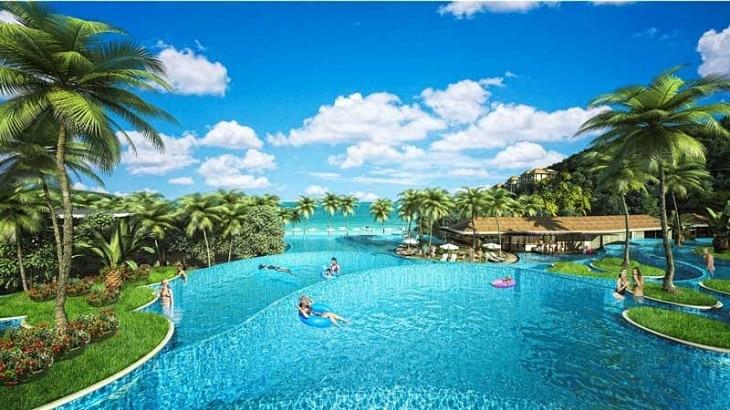 Bể bơi vô cực biệt thự Premier Village Phú Quốc Resort