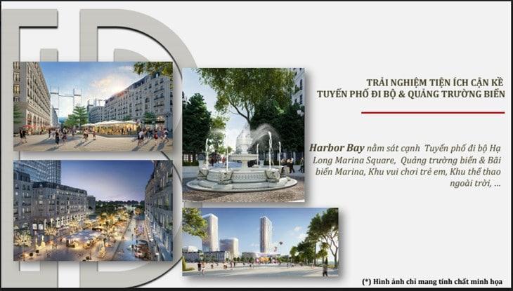 Tiện ích dự án Harbor Bay