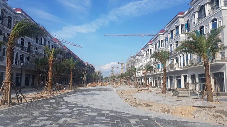 Tiến độ xây dựng dự án Shop Grand World Phú Quốc