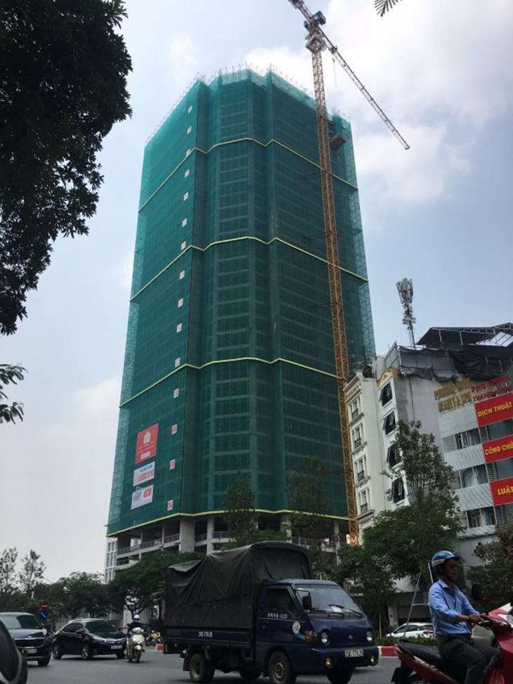 Tiến độ dự án chung cư Summit Building