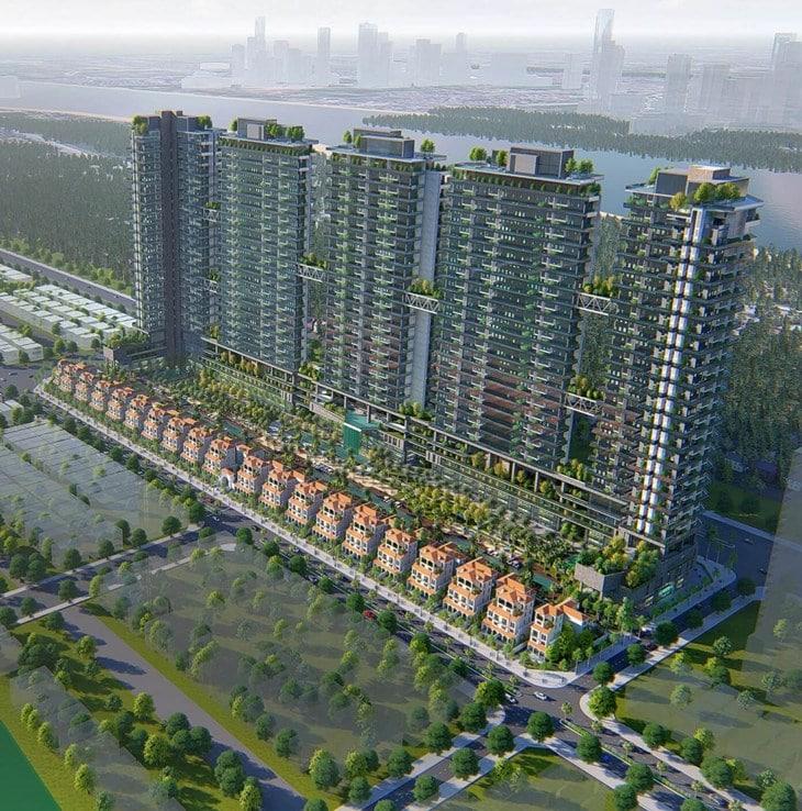 dự án Chung cư Sunshine Crystal River Ciputra