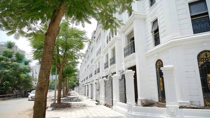 Shophouse dự án Larissa Khu đô thị Đại Kim