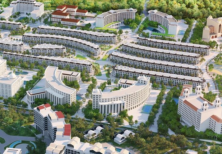 Mặt bằng dự án Codotel Grand World Phú Quốc