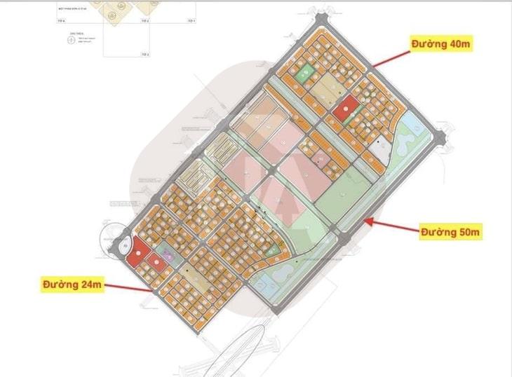 Mặt bằng tổng thể dự án Vinhomes Wonder Park