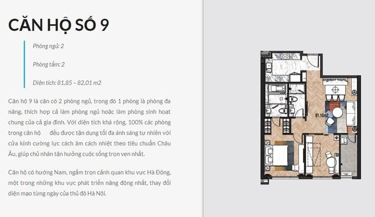 Thiết kế căn hộ Chung cư King Palace 108 Nguyễn Trãi số 9