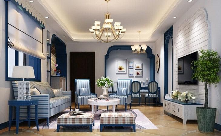 Thiết kế nội thất Codotel Địa Trung Hải 1