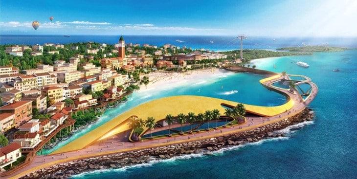 Đường bờ biển Condotel Địa Trung Hải