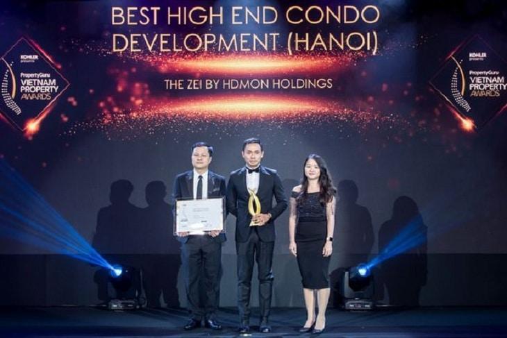 Chung cư The Zei nhận giải thưởng thiết kế tốt nhất năm 2019