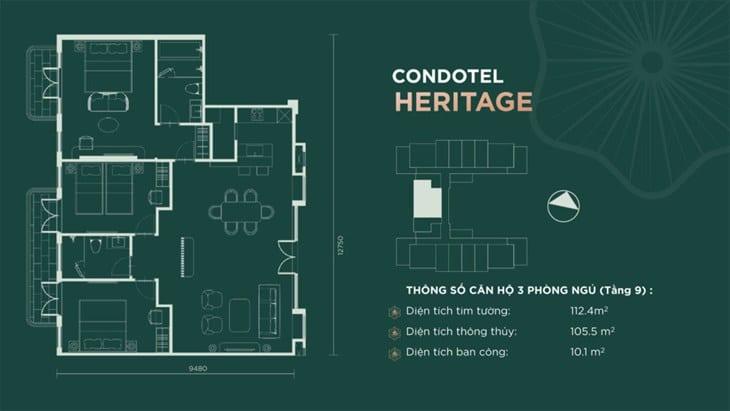 Thiết kế căn hộ condotel Sim Island Phú Quốc 7