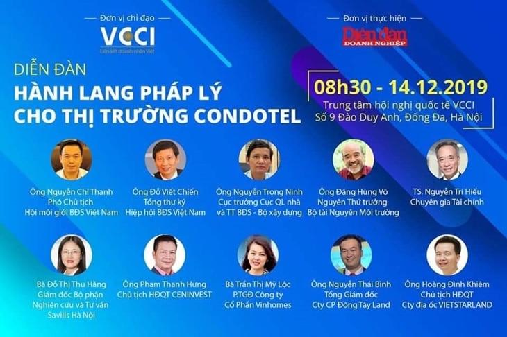 Hanh lang phap ly cho thi truong condotel