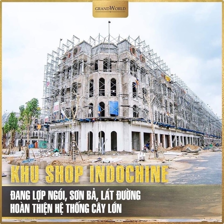 Khu shop indochine