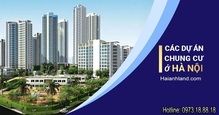 Tổng hợp dự án chung cư tại Hà Nội