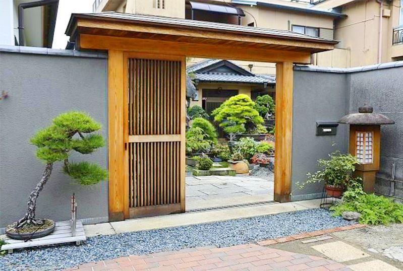 Những mẫu cổng biệt thự nhà vườn đẹp