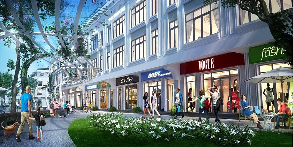 Shophouse Central Park với thiết kế đa chức năng