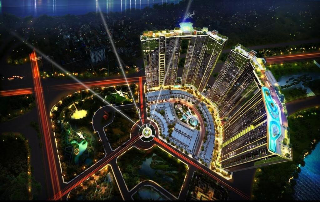 Dự án chung cư cao cấp cấp Sunshine City Ciputra Tây Hồ Hà Nội