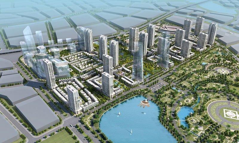 Căn hộ Duplex The Manor Central Park Nguyễn Xiển có vị trí đắc địa