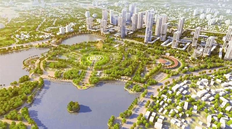 Xây dựng theo mô hình khu đô thị sinh thái