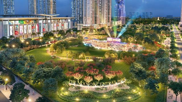 Tổng quan về Penthouse The Manor Central Park Nguyễn Xiển
