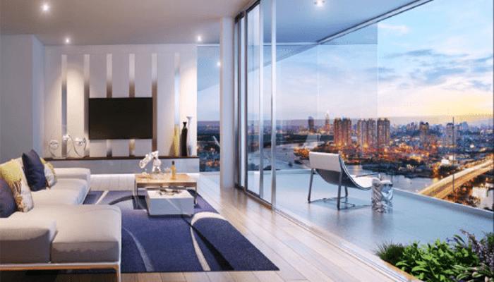penthouse của dự án The Manor Central Park